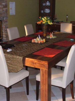 Amerikai dió étkezőasztal