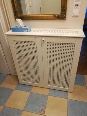 Radiátor takaró szekrény
